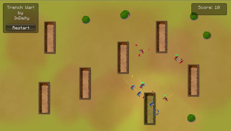 TrenchWar game by ImDeity